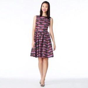 Florence Broadhurst for Kate Spade Geometric Dress